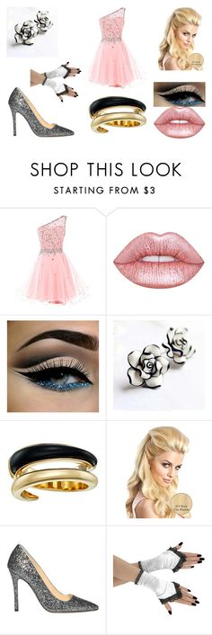 """""""kite's prom date"""" by sarahmullen-yugioh ❤ liked on Polyvore featuring Lime Crime, Michael Kors and L'Autre Chose"""