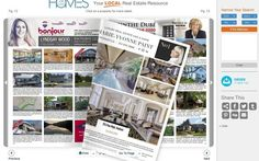 Digital Magazine - the future is here. - Homes and Land of Montreal Marketing Flyers, Luxury Marketing, Digital Marketing, Enlarge Photos, Of Montreal, Free Market, Real Estate Business, Digital Magazine, Personal Branding