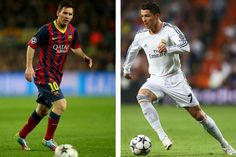 A comparison of the two best players in the world: Messi vs Ronaldo.