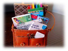 Book bag tutorial! Tutorial bolsa cuero. - Villa Pulgarcito