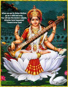 Saraswati Photo, Saraswati Mata, Saraswati Goddess, Goddess Art, Goddess Lakshmi, Durga Maa, Saraswati Idol, Kali Shiva, Shiva Hindu