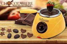 Choclatiere Electric Melting pot Jom buat coklat sendiri Guna bahan yg dah tentu halal Bole makan tanpa was2