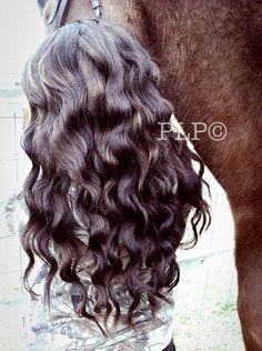 Heatless waves with waterfall braid Heatless Waves, Braids, Braid Hair, Hair Goals, Braided Hairstyles, Hair Cuts, Hair Color, Make Up, Long Hair Styles