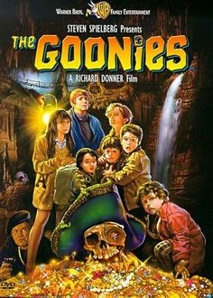 "Pin for Later: Pass the Popcorn! The 50 Greatest Kids' Movies of All Time The Goonies ""An awesome adventure movie that led to many treasure hunts in my own backyard."" — LR Movie Rating: PG Click to Buy: The Goonies ($6)"