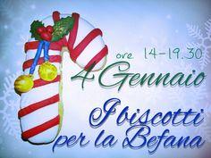 Un corso livello base per decorare insieme ai vostri bimbi, i biscotti da regalare alla Befana.  Info ed iscrizioni Tel. 3284974245
