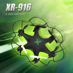 Dron XR-916 6 Aixs Rc Helicopter Kinda Drone Quadcopter 3D Flips Quadrocopter Remote Control Rc Hexacopter