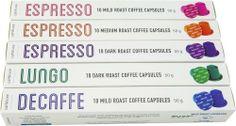 Nespresso Compatible Capsules-50 Capsules Mixed Pack - http://nespressoshop.net/nespresso-compatible-capsules-50-capsules-mixed-pack