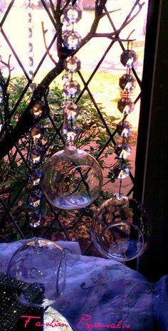 Sale Sale 6 Hanging Bubble Tea light candle by FashionProposals, $20.00