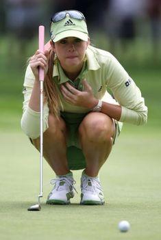 Increase Your Golf Skills. Practicing far better golf. Girls Golf, Ladies Golf, Paula Creamer, Lpga Golf, Golf Now, Sexy Golf, Yoga Pants Girls, Golf Wear, Jolie Photo