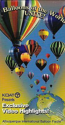 Balloons Of the World Unite! Albuquerque Balloon Fiesta Video Highlights VHS NEW
