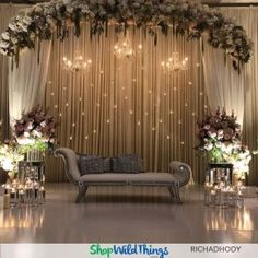 Unordinary Wedding Backdrop Decoration Ideas28
