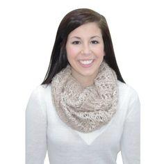 Khaki Sequin Cowl. #scarf  #fashion 9thelm.com