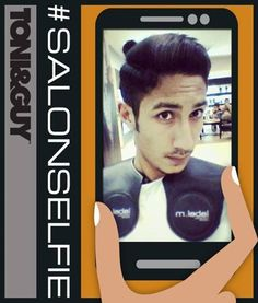 Faizan Khan got his cut & styling done from TONI&GUY and sent us a selfie as he was very happy with the results! Next time you're at any of our salons (in Lahore or Islamabad), take a selfie and inbox it to us on our Facebook page and we'll post it. Bring on the #salonselfie