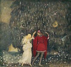 Illustration by Swedish artist John Bauer