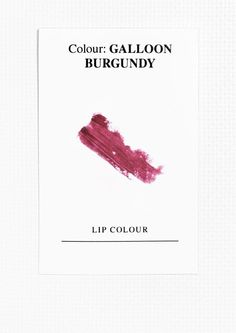 & Other Stories image 2 of Lipstick in Galloon Burgundy