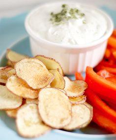NapadyNavody.sk | Krehké a chrumkavé zemiakové lupienky takmer bez oleja, pripravené v mikrovlnnej rúre