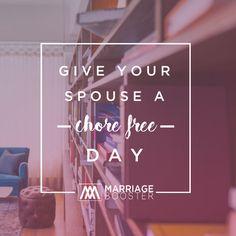 Rest day! #marriagebooster