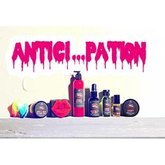 ENTIRE ANTICI...PATION COLLECTION Save 10% off all 8 full-sized ANTICI...PATION products, when purchased together. Limited Stock. $63.31 Rocky Horror Picture Show, Best Bath, Fortune Cookie, Soaps, Bath And Body, Tattoo Ideas, Collections, Mini, Awesome