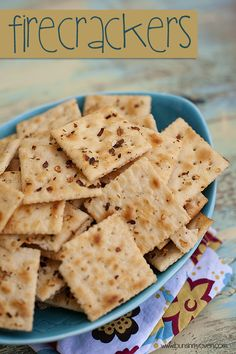No bake seasoned saltines crackers do it yourself today 2 sleeves saltine crackers 1 pkt ranch dressing mix 2 tbsp red solutioingenieria Choice Image