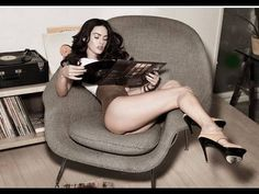 Liked on YouTube: Megan Fox Photos In Rolling Stone - Legs Sexy Talk And Picts