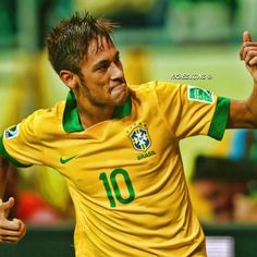 neymar jr - brazil Football Drills, Cutest Thing Ever, Neymar Jr, Fc Barcelona, To My Future Husband, Brazil, Athlete, Exercises, Legends