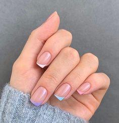 Simple Acrylic Nails, Fall Acrylic Nails, Acrylic Nail Designs, Simple Nails, Simple Elegant Nails, French Nail Designs, Chic Nails, Stylish Nails, Swag Nails