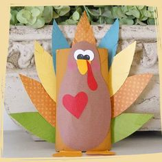 DIY Thanksgiving Crafts to Make with Your Kids - Thanksgiving Crafts for Kids That Are Way Better Than Your Old School Projects - Photos