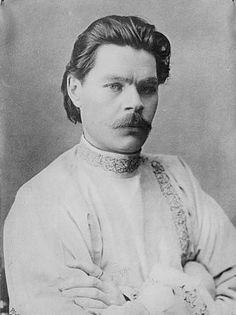 Maxim Gorky, February 1910