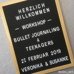 #workshop #bulletjournaling #welcome #letterboard #bujo4kids #bern