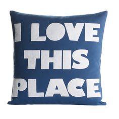 Alexandra Ferguson Celebrate Everyday I Love This Place Throw ...