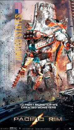 More Pacific Rim movie poster art