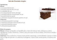 Resultado de imagem para receita de bolos simples e faceis de fazer
