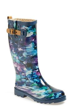 Chooka 'Deep Sea' Waterproof Rain Boot (Women) available at #Nordstrom