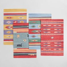 One of my favorite discoveries at WorldMarket.com: 2'x3' Cotton Killim Gabbeh Style Area Rug