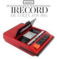 Se você é do time que nasceu nos anos 1980, quando o toca fitas era o hype do momento, então provavelmente você vai amar o iRecorder. O iRecorder é alto-falante
