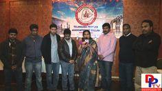 Sharada Singireddy speaking to media at Shraddhanjali meeting For Chakri...