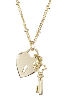 Beyond Rings Key To My Heart Necklace by Beyond Rings on @nordstrom_rack