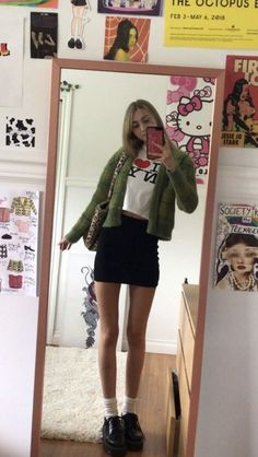 Indie Outfits, Cute Casual Outfits, Summer Outfits, Flannel Outfits, Pink Outfits, Winter Outfits, Fashion 2020, 90s Fashion, Fashion Outfits