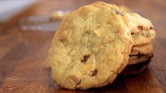 Weiße Macadamia Cookies