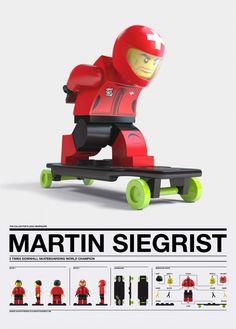 design custom lego mini-figure Martin Siegris