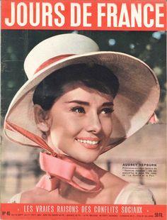 Audrey Hepburn - Jours de France n°46, 24 septembre 1955
