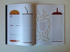 Twitter / DesignbySt: One of our spreads in the new ...