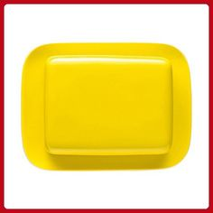 Thomas Sunny Day Butter Dish / Holder / Cover for 250g Butter, Porcelain, Neon Yellow, Dishwasher Safe, 15169 - Kitchen gadgets (*Amazon Partner-Link)