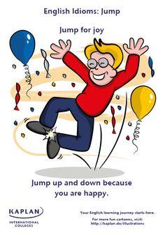 English Idioms: Jump for Joy
