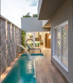 65 trending small pool designs for your backyard 75 ~ Home Design Ideas Amazing Swimming Pools, Small Swimming Pools, Small Pools, Swimming Pools Backyard, Swimming Pool Designs, Lap Pools, Indoor Pools, Pool Decks, Backyard Pool Landscaping