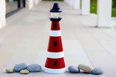 DIY – How to Make a Clay Pot Lighthouse