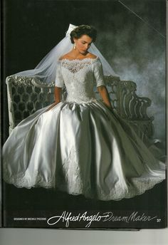 Alfred Angelo 1992 Vintage Wedding GownsVintage