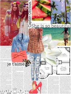 """""""Summer 2013 ♥!"""" by allesmile ❤ liked on Polyvore"""