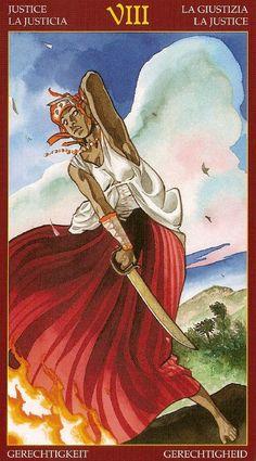 Justice - Afro-Brazilian Tarot