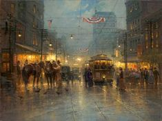 Gerald Harvey Jones, 1933 ~ Western painter | Tutt'Art@ | Pittura * Scultura * Poesia * Musica |
